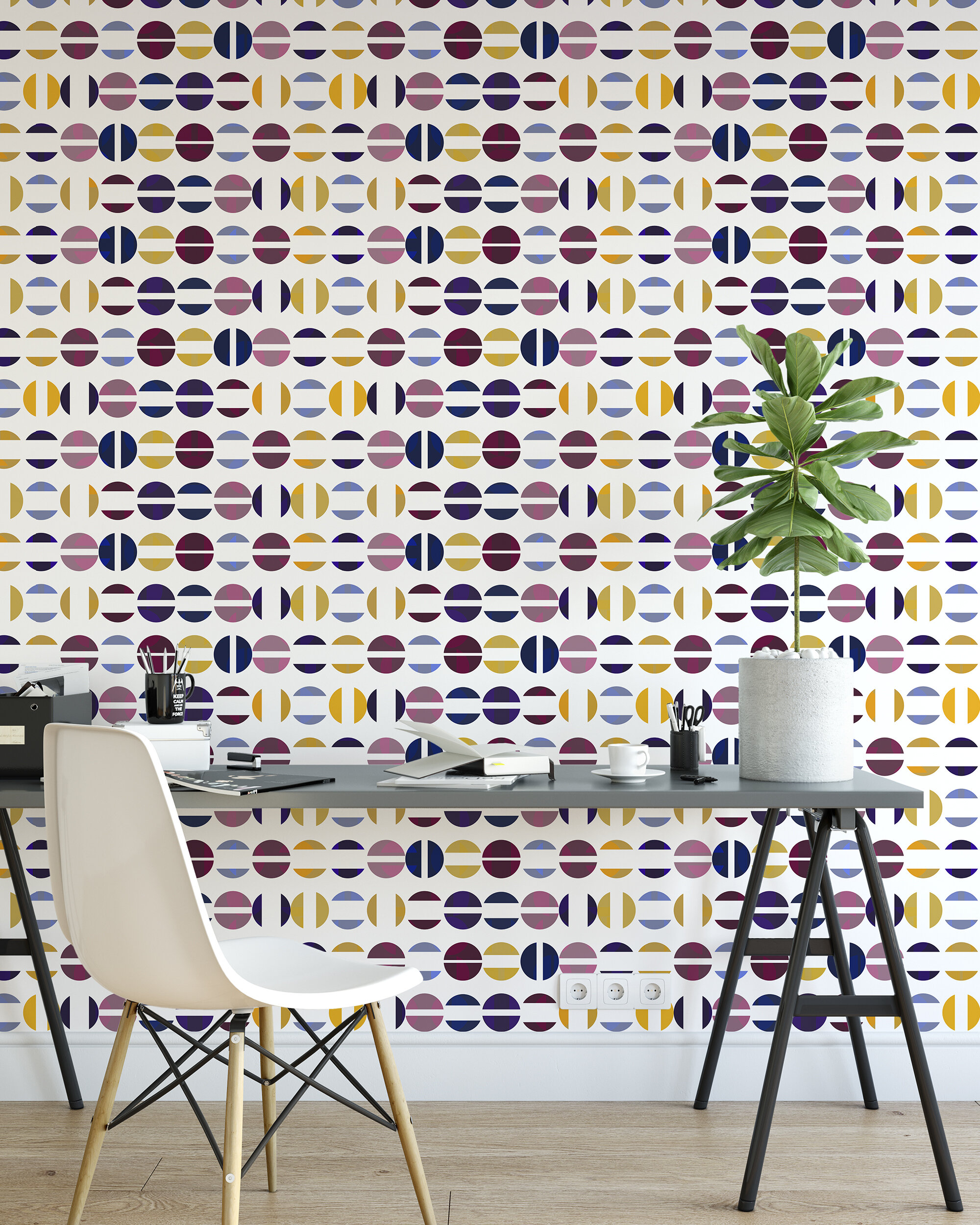 Ivy Bronx Sistrunk Fragment 16 5 L X 24 W Wallpaper Roll Wayfair