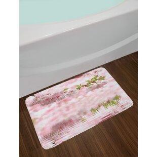Charleston 3dRose Azaleas in Bloom Reflected in Calm Pond South Carolina Pillow Case 16 x 16