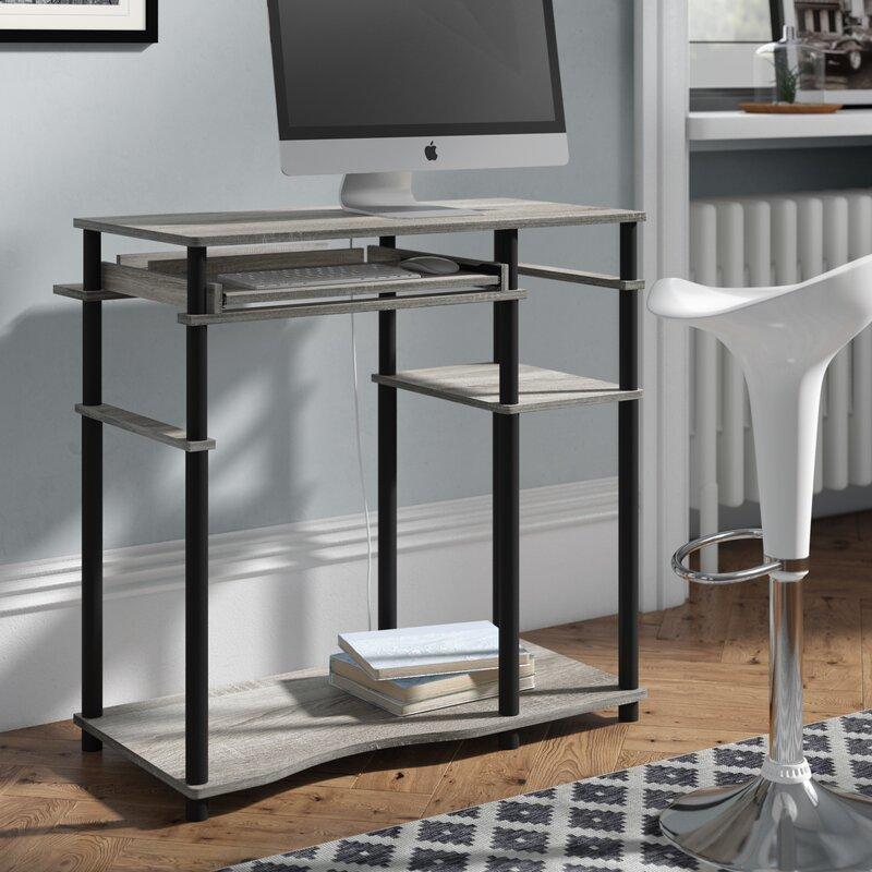 Ebern Designs Antigo Computer Desk Reviews Wayfair Co Uk
