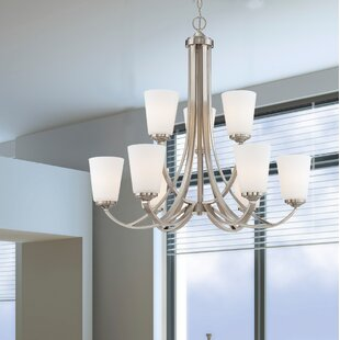 Andover Mills Mildred 9 Light Chandelier