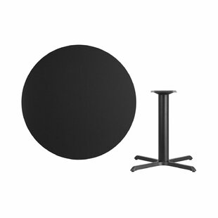 Lula Round Laminate Dining Table Symple Stuff