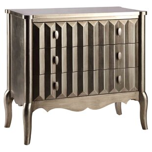 Sheila 3 Drawer Accent Chest by House of Hampton