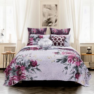 Martell Rose Touch Reversible Quilt Set
