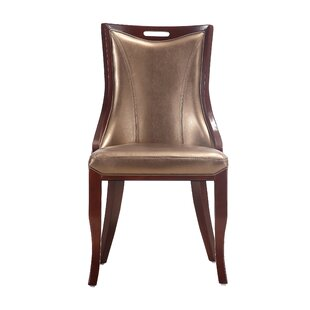 Crawfordville Upholstered Dining Chair (Set of 2) Astoria Grand