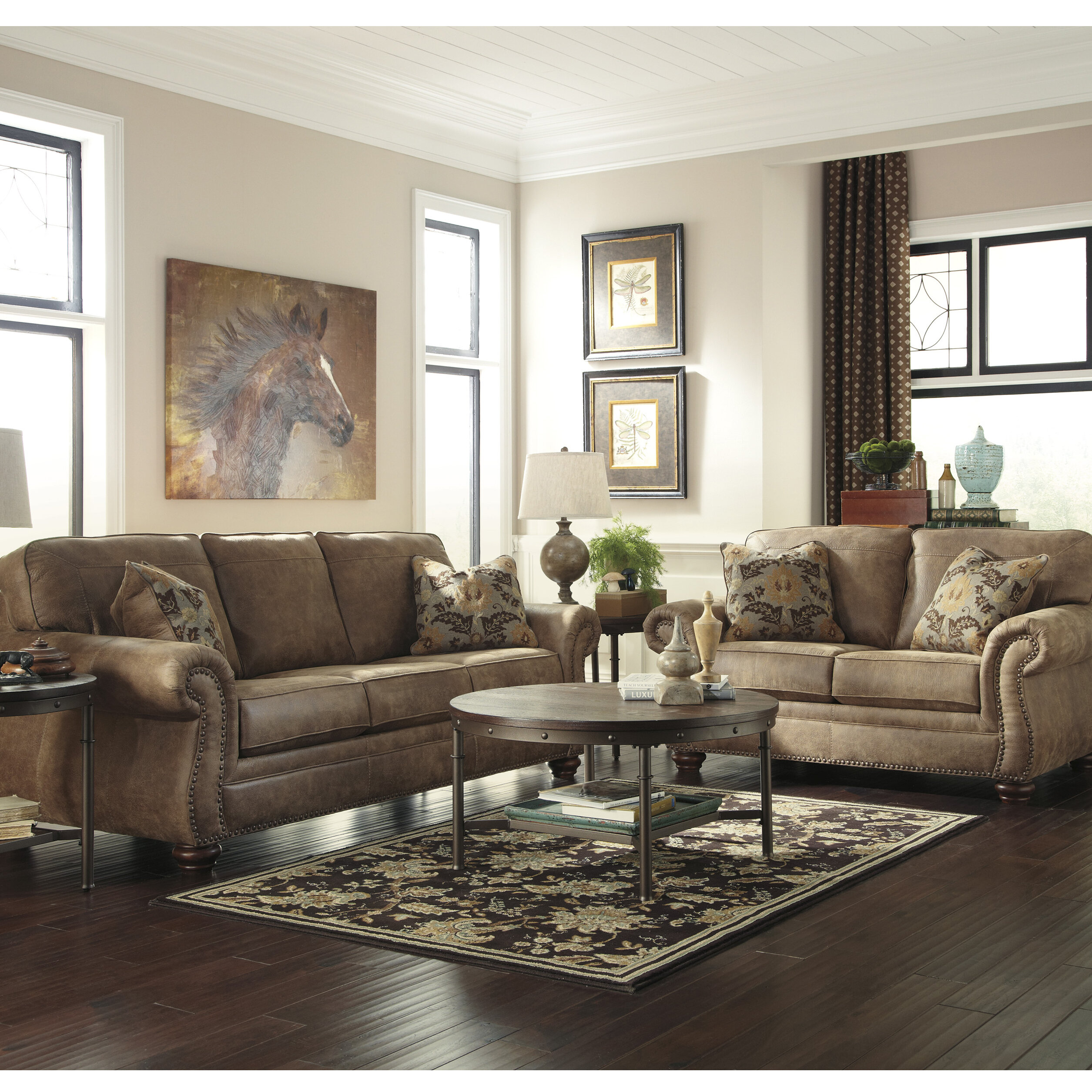Darby home co fae 2 piece living room set wayfair