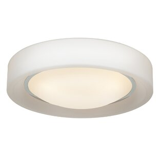 Great choice Patino 3-Light Outdoor Flush Mount By Latitude Run