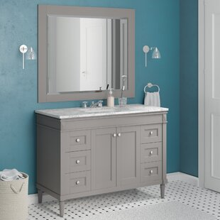 Millfield 48 inch  Single Vanity Set with Mirror