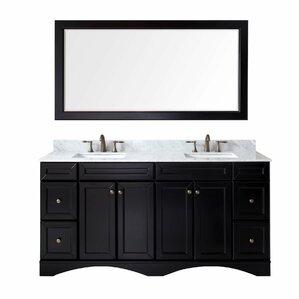 Bathroom Vanities Two Sinks double vanities you'll love   wayfair