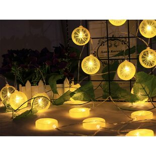 Oliveira Lemon Slices 10 Light Novelty String Lights