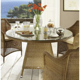 Sanderlin Rattan Dining Table By Sol 72 Outdoor