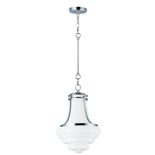 Latitude Run Caulkins 1-Light Schoolhouse..
