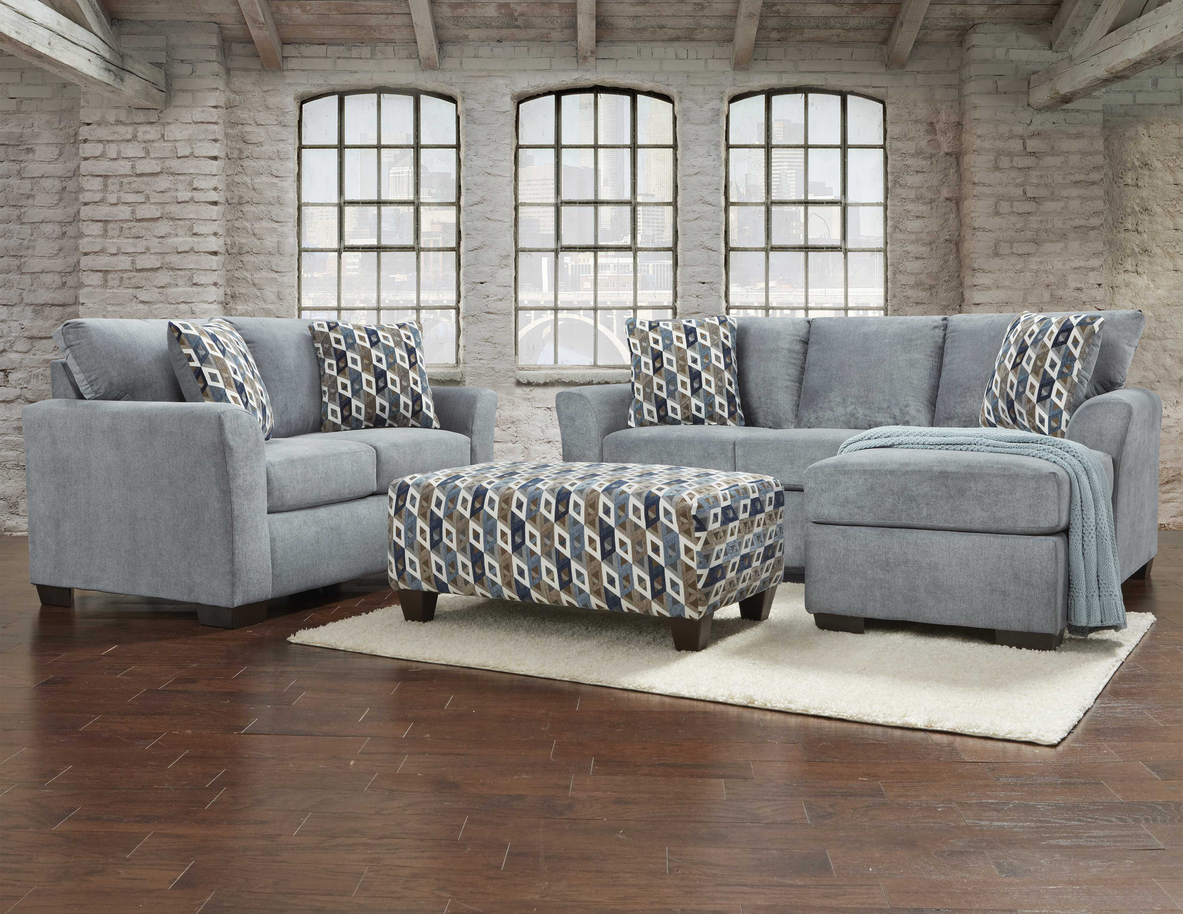 Red Barrel Studio® Paes 3 Piece Living Room Set & Reviews | Wayfair