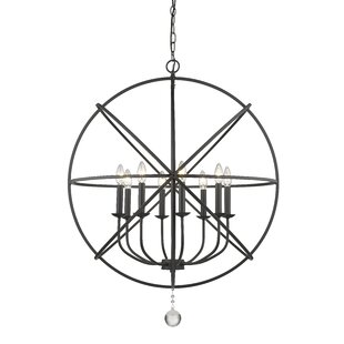 Wrought Studio Mortimer 8-Light Globe Chandelier