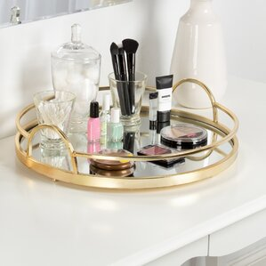 Gold Metal Accent Tray
