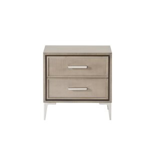 Compare Maison 55 Chloe 2 Drawer Nightstand by Resource Decor