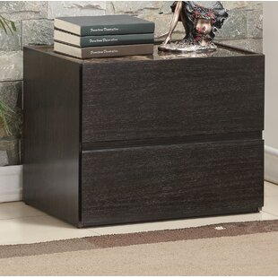 Opalo 2 Drawer Nightstand