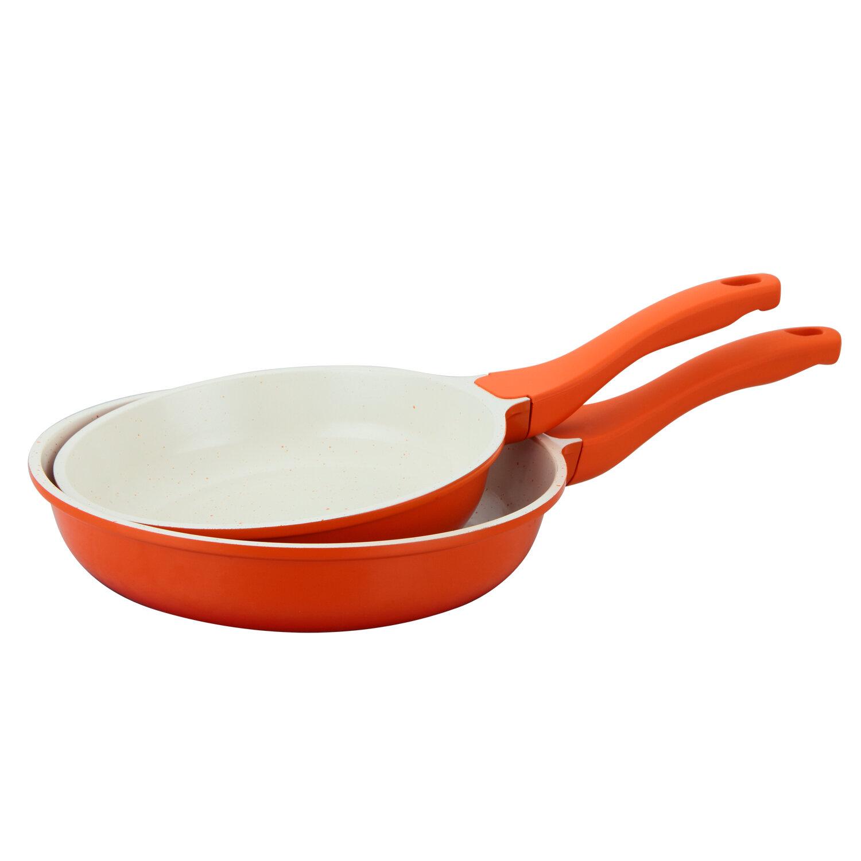Culinary Edge 2 Piece Non Stick Frying Pan Set Wayfair