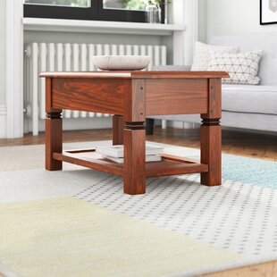 Adlington Solid Wood Coffee Table By Rosalind Wheeler