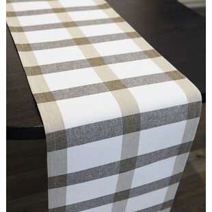 Jade Check Reversible Runner by Laurel Foundry Modern Farmhouse