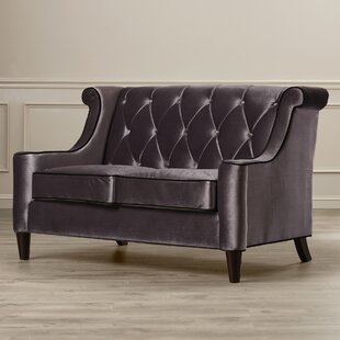 Carressa Velvet Loveseat