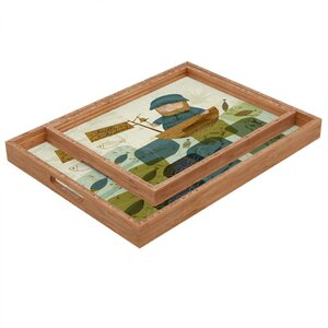 One Fine Fisherman Tray
