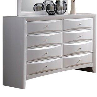 Latitude Run Schermerhorn 8 Drawer Double Dresser