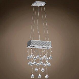 Drops of Rain 2-Light Cluster Pendant by WeGotLites