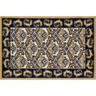 Northwest Hills Navy/Black Indoor/Outdoor Area Rug