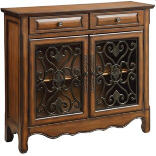 Bay Isle Home Colville 2 Drawer Accent Cabinet
