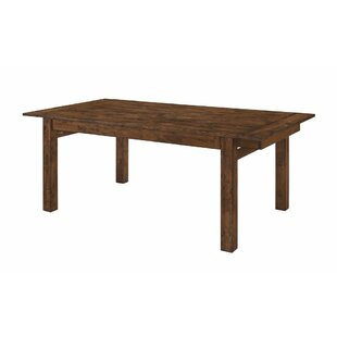 Millwood Pines Venegas Wooden Dining Table