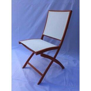 Hybrid 77 Folding Patio Dining Chair (Set of 2)