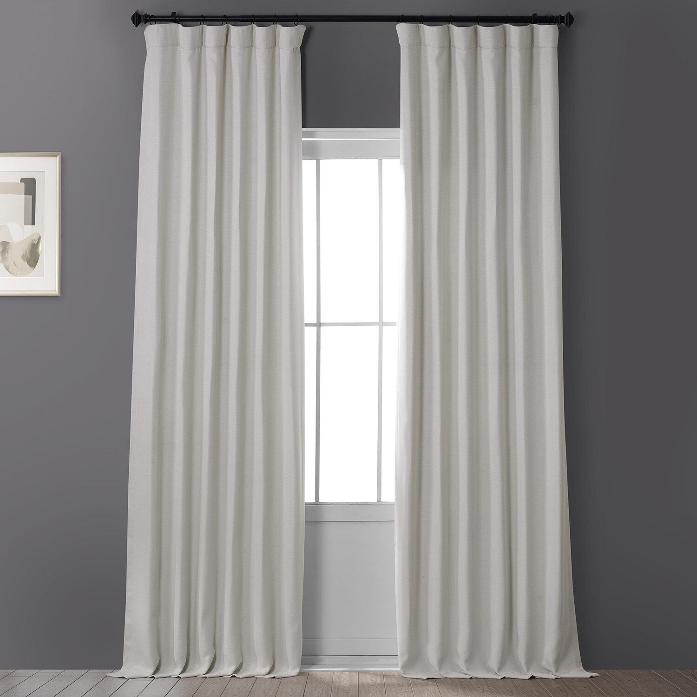 Clem Solid Blackout Rod Pocket Single Curtain Panel Reviews Allmodern