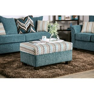 Rossie Tufted Ottoman by Latitude Run