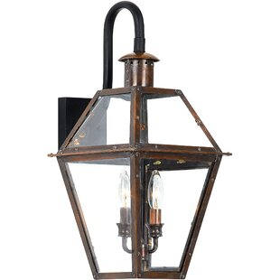 Lois 2-Light Outdoor Wall Lantern