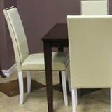 Blazing Parsons Upholstered Dining Chair (Set of 4) by Warehouse of Tiffany