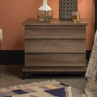 Union Rustic Tufo 3 Drawer Nightstand