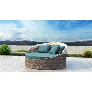 Gillham Patio Daybed with Sunbrella Cushion by Orren Ellis