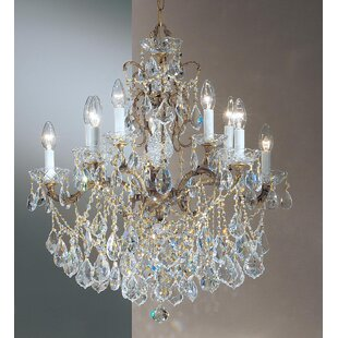 Classic Lighting Madrid Imperial 10-Light Candle Style Chandelier