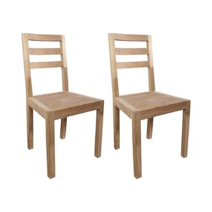 Alto Solid Teak Dining Chair (Set Of 2) By Tikamoon