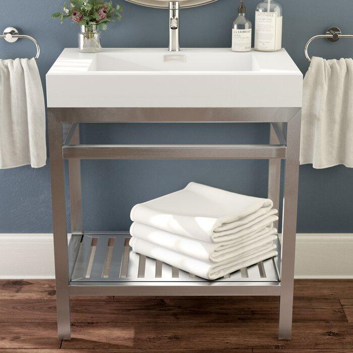 Hammonton Modern 30 Single Bathroom Vanity Set