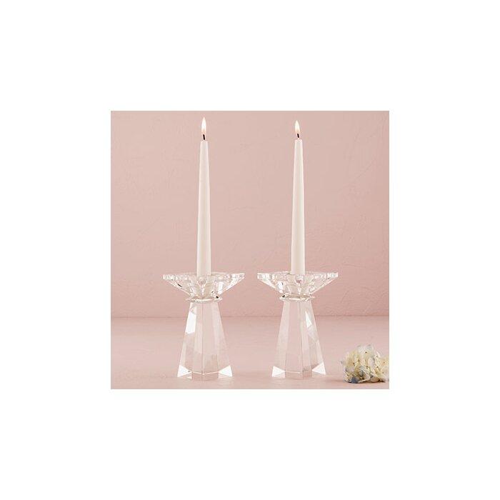 Crystal Tealight Holders Wedding Decor Wedding Decoration Set of 6 Weddingstar