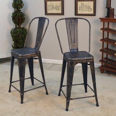 Outstanding Trent Austin Design Sroka 24 Inch Bar Stool Finish Antique Squirreltailoven Fun Painted Chair Ideas Images Squirreltailovenorg