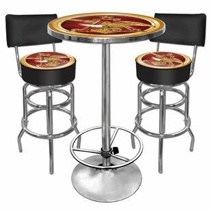 Trademark Global A and Eagle 3 Piece Pub Table Set