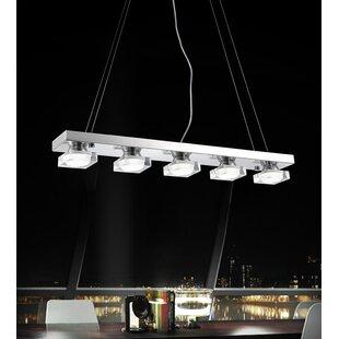Paulina 5-Light Kitchen Island Pendant by CWI Lighting