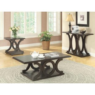 Red Barrel Studio Old Down 3 Piece Coffee Table Set