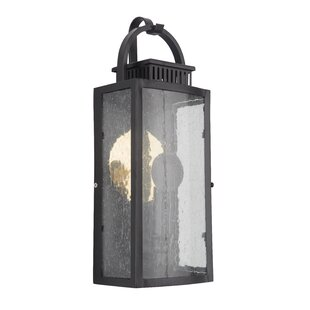 Longshore Tides Channell LED Outdoor Wall Lantern