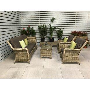 Mary 5 Seater Rattan Sofa Set Image