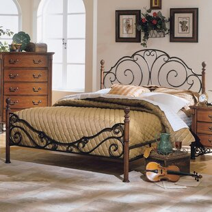 Lenwood Metal Twin Panel Bed by Fleur De Lis Living New
