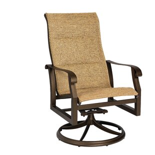 Cortland Swivel Patio Dining Chair by Woodard Cool