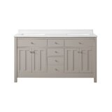 Bedford Hillside 60 Double Bathroom Vanity Set by Martha Stewart